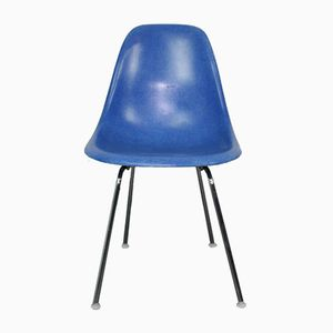 Medium Blue DSX Chair by Ray & Charles Eames for Herman Miller, 1960s