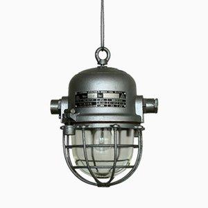 Industrielle Bunker Lampe von EKA, 1960er