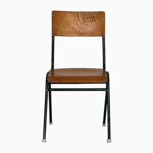 Chaise d'École Vintage Industrielle