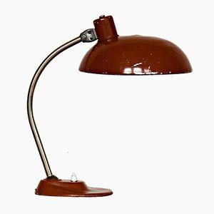 Lampada da scrivania vintage marrone di Szarvasi