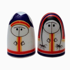 Vintage Salt & Pepper Shaker Set by Esteri Tomula