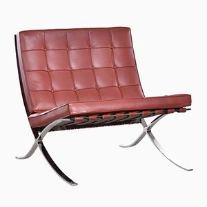 Barcelona Chair by Ludwig Mies van der Rohe for Knoll, 1980s