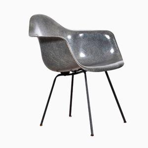Grauer Amerikanischer SAX Stuhl von Charles & Ray Eames für Herman Miller, 1950er