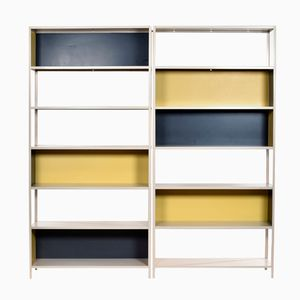 Modular Bookcases by Friso Kramer for Asmeta, 1950s, Set of 2
