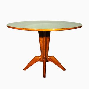 Italian Ash Center Table, 1940s
