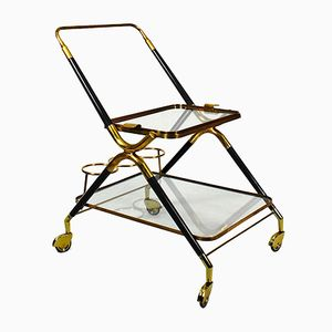 Small Bar Cart by Cesare Lacca, 1950s