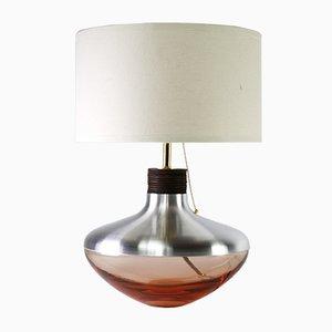 Pfirsichfarbene Museum Lampe M1 aus Aluminium von Utopia & Utility