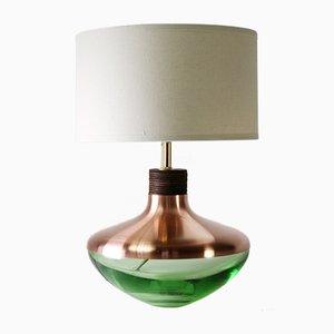 Minzfarbene M1 Museum Lampe aus Kupfer von Utopia & Utility