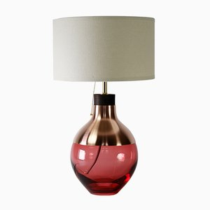 Rosarote M2 Museum Lampe aus Kupfer von Utopia & Utility