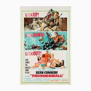 "Poster del film ""Thunderball"" di McGinnis & McCarthy, Stati Uniti, 1965"