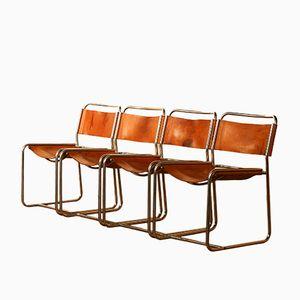 Esszimmerstühle von Paul Ibens & Claire Bataille für 't Spectrum, 1970er, 4er Set