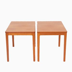 Teak Side Tables from Alberts i Tibro, 1969, Set of 2