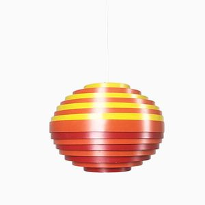 Austrian Hanging Lamp with Multicolored Shade from Vest, 1960s