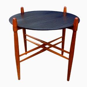 Dänischer Mid-Century Teak & Formica Beistelltisch von Poul Hundevad für PJ Furniture, 1960er