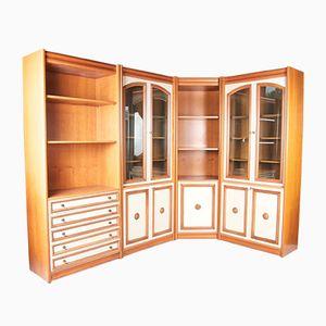Vintage Oak Living Room Unit