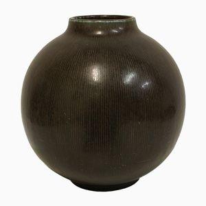 Steingut Vase von Eva Staer Nielsen für Saxbo Denmark