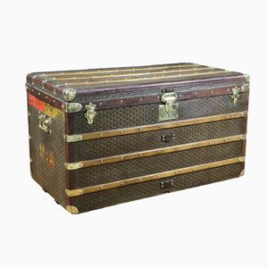 French Steamer Trunk from Goyard, 1920