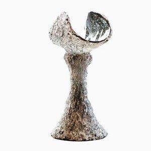Romanian Glass Bowl by Mihai Topescu, 1980s