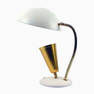 Lampe de Table Mid-Century avec Double Abat-Jour, Set de 2
