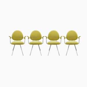 Model 302 Chairs by W.H. Gispen for Kembo, Set of 4