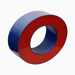 Rot & Blauer Niederländischer Leuchtbuchstabe O