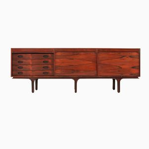 Large Rosewood Sideboard by Gianfranco Frattini for Bernini, 1960s