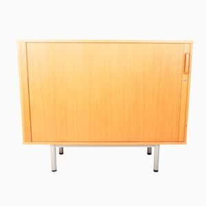 Mid-Century Tambour Door Cupboard
