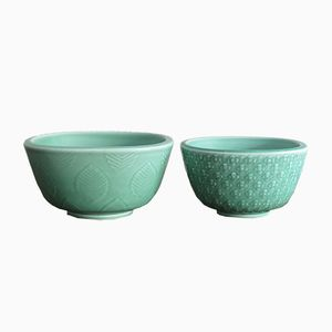 Marselis Bowls by Nils Thorsson for Royal Copenaghen, 1950s, Set of 2
