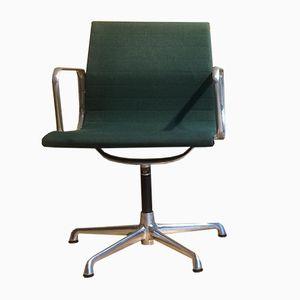 Chaise Group Chair EA108 Mid-Century en Aluminium par Charles & Ray Eames pour ICF