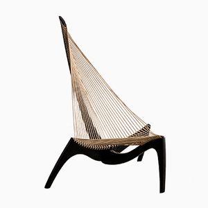 Sedia Harp in frassino di Jørgen Høvelskov per Christensen & Larsen Möbelhandwerk