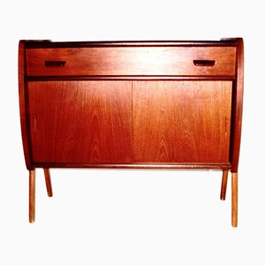 Teak Sideboard with Drawer by Poul Volther for FDB, 1960s