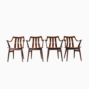 Dutch Dining Armchairs, 1968, Set of 4