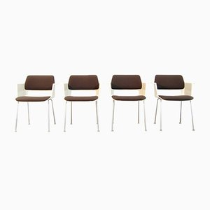 Dutch Modern Dining Chairs by A.R. Cordemeijer for Gispen, 1960s, Set of 4