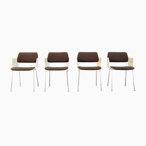 Niederländische Moderne Esszimmerstühle von A.R. Cordemeijer für Gispen, 1960er, 4er Set