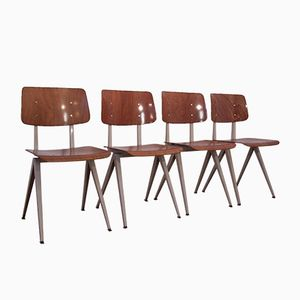 Vintage Modell S16 Stühle von Galvanitas, 4er Set