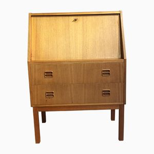 Light Danish Teak Bureau