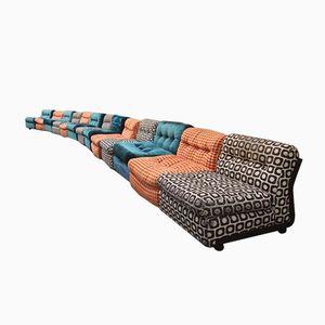 13-Teiliges Italienisches Sofa von Mario Bellini für B&B, 1970er