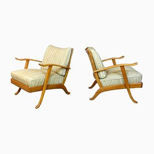 Mid-Century German Easy Chairs from Wilhelm Knoll, 1960s, Set of 2