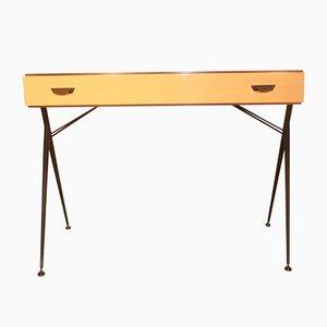 Small Italian Desk by Silvio Cavatorta, 1950s