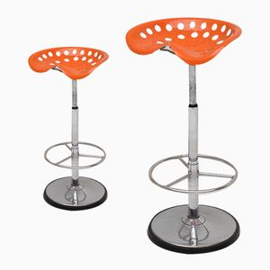 Faucheuse Bar Stools by Étienne Fermigier for Mirima, 1970s, Set of 2