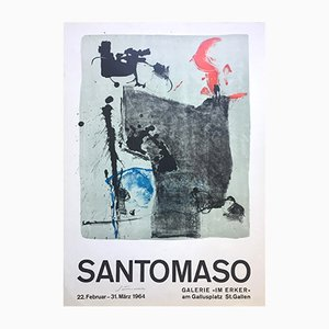 Poster Exposition Santomaso de Erker-Presse, 1964