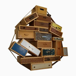 Piece No. 3 You Can't Lay Down Your Memory Chest of Drawers by Tejo Remy for Droog, 1991