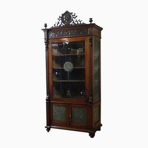 Antique Display Case Cabinet