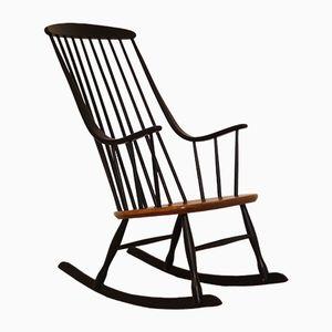 Vintage Scandinavian Model Bohem Rocking Chair by Lena Larsson for Nesto