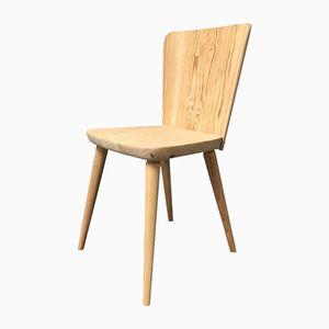 Schwedischer Stuhl aus Kiefernholz von Goran Malmvall, 1940er