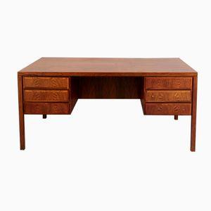 Mid-Century Model 77 Rosewood Desk by Gunni Omann for Omann Jun Møbelfabrik