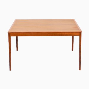 Mid-Century Rosewood Coffee Table by Ole Wanscher for A.J. Iversen