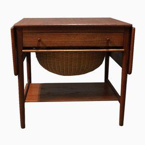 Table de Couture Modèle AT-33 par Hans J. Wegner pour Andreas Tuck, Danemark, 1950s
