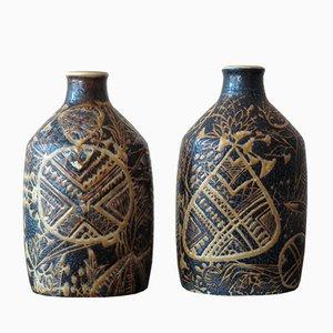 Vases en Céramique de Royal Copenhagen, 1960s, Set de 2
