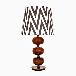 Lampe de Bureau Vintage en Wengé par Henrik Blomqvist pour Stilarmatur Tranås